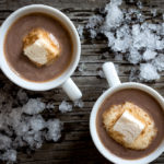sugaring season hot cocoa from little hill sugar works, craft made pure vermont maple syrup