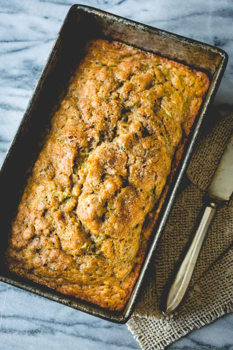 Maple Sweetened Zucchini Bread | Little Hill Sugarworks, Craft-made Small-batch Pure Vermont Maple Syrup. Recipe by Katie Webster